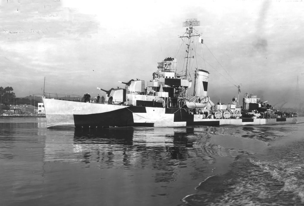 «Кубики и лесенки»… Американский эсминец «Patterson»
