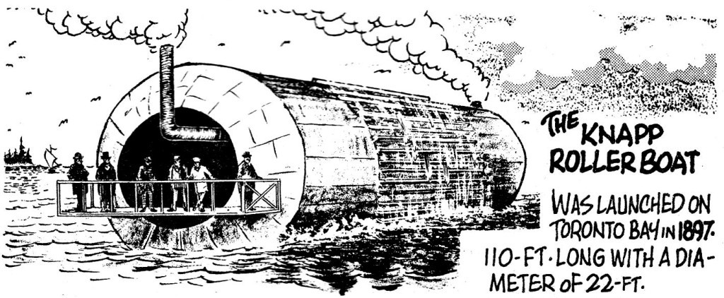 «Роллер бот» Фредерика Нэппа остался в истории кораблестроения как курьёз