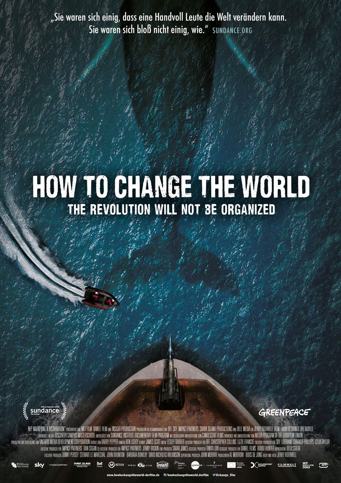 """Постер фиьлма """"Как изменить мир"""""""
