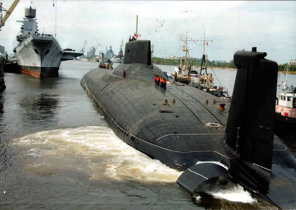 большие подводные лодки россии