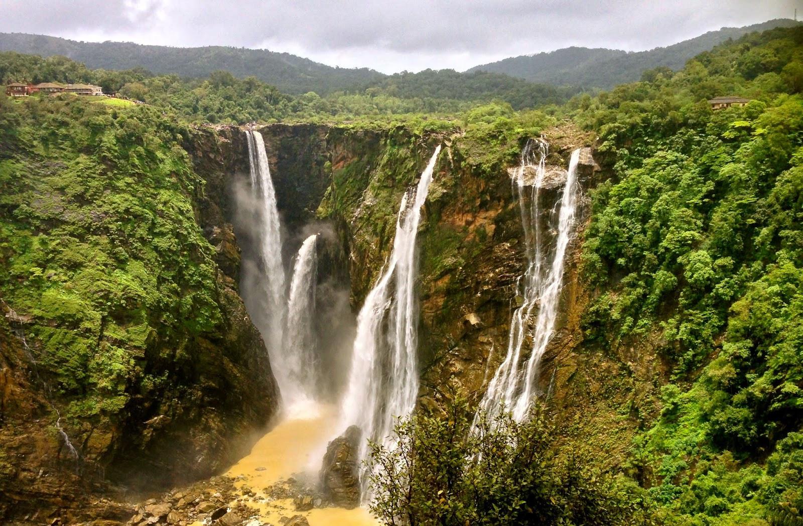 Водопад Герсопа (Jog_Falls) Индия