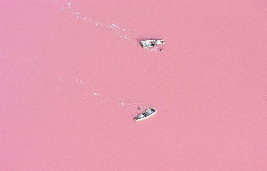 Озеро Ретба. Сенегал.