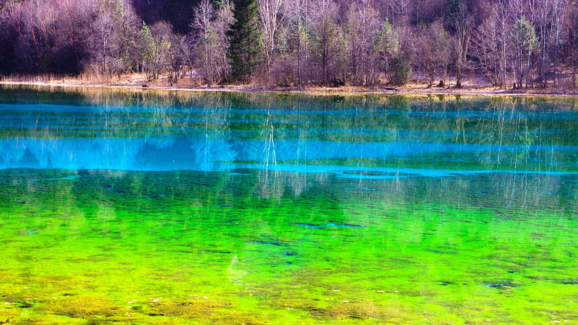 Озеро Пяти Цветов, Долина Цзючжайгоу