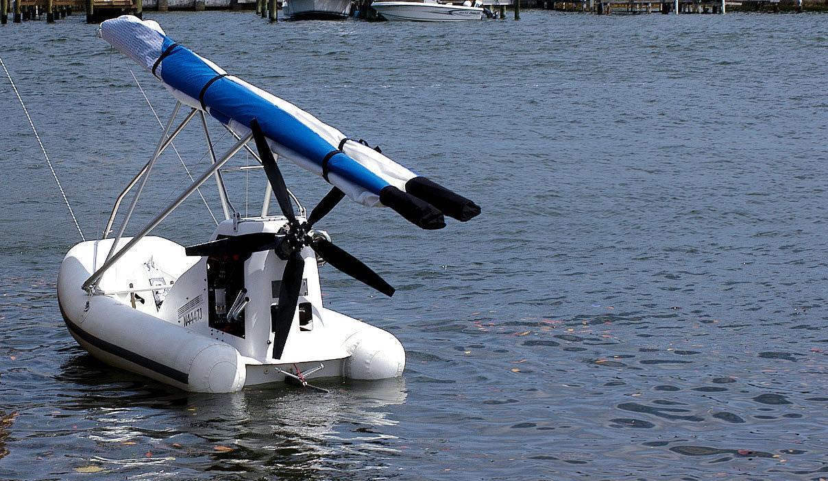 лодка для полетов