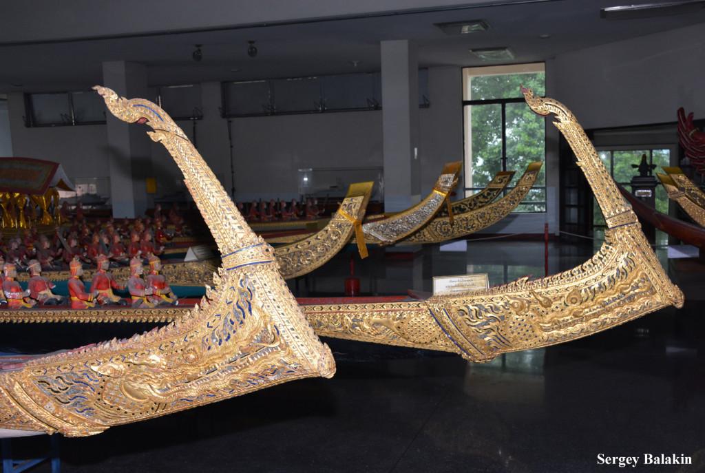 Отлично проработанный декор моделей лодок