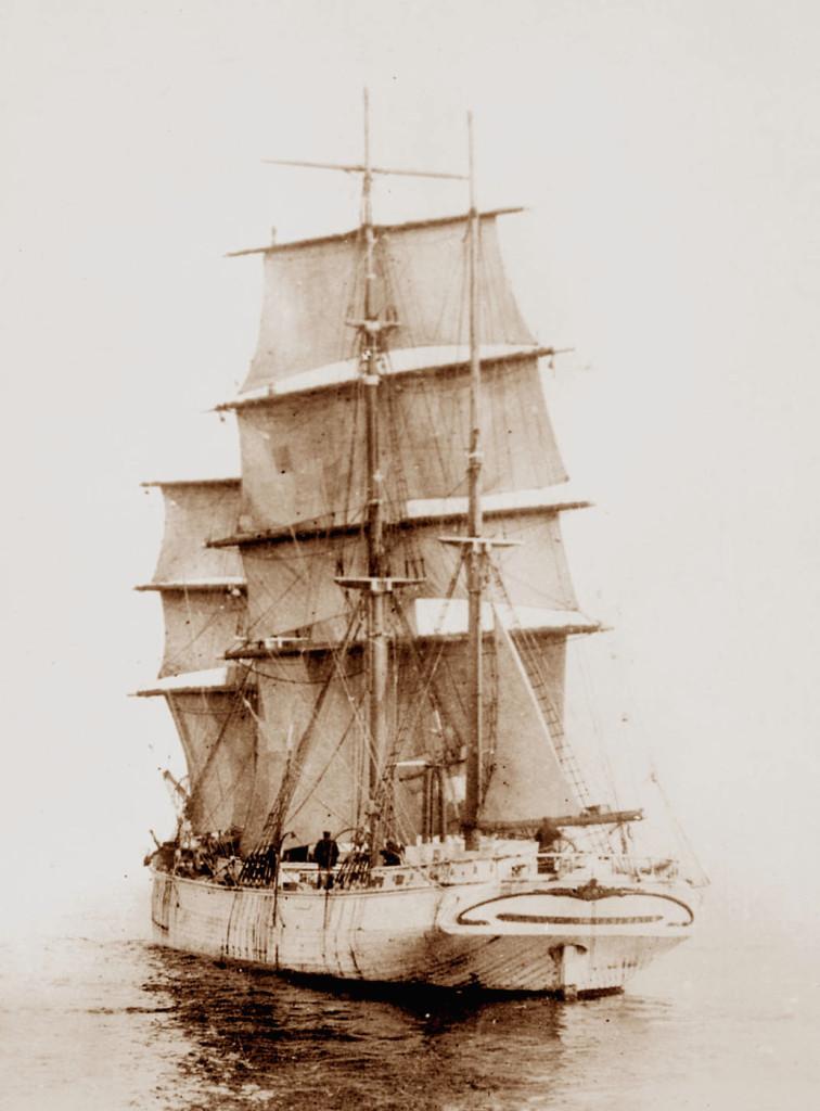 Грузовой парусник «Камчатка» Российско-Американской компании