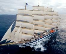 В Сплите заложен 162-метровый барк