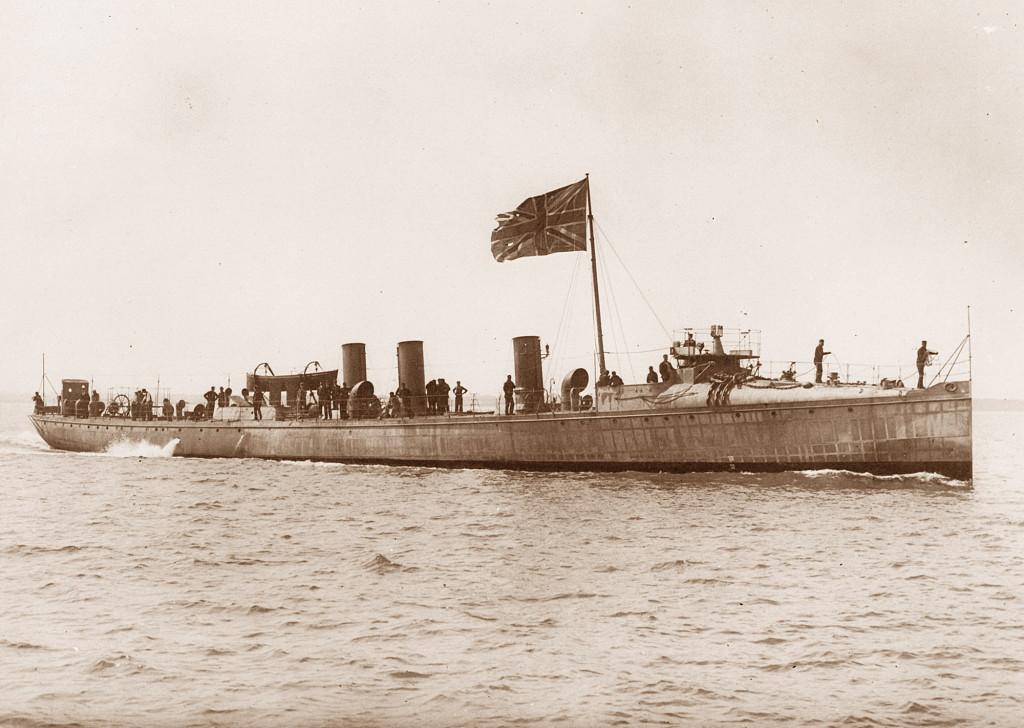 «Conflict» - один из первых дестройеров британского флота, 1894 г.