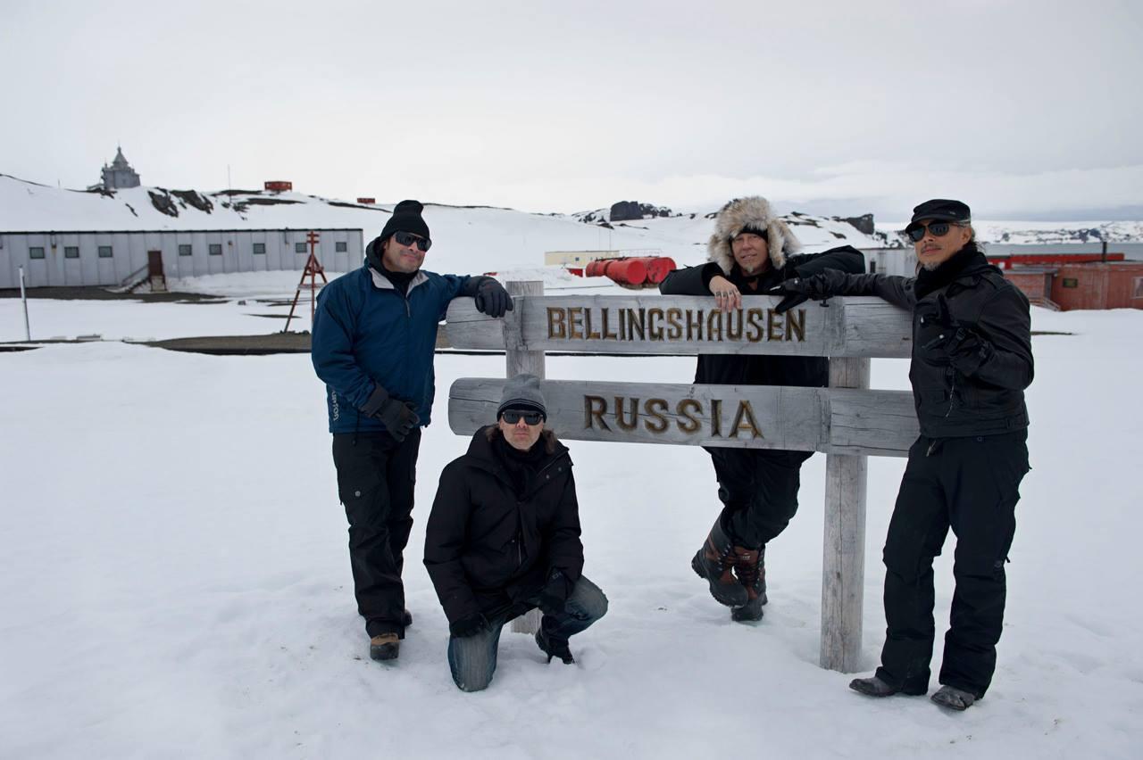 Метталика в Антарктиде