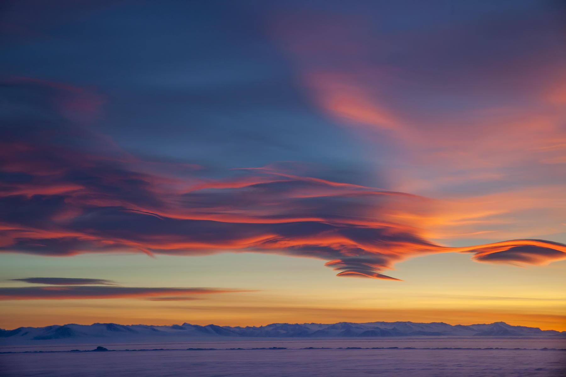Антарктида  Девина Стросса
