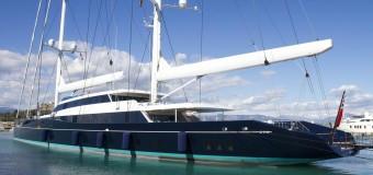 Парусная суперяхта Aquijo спущена на воду