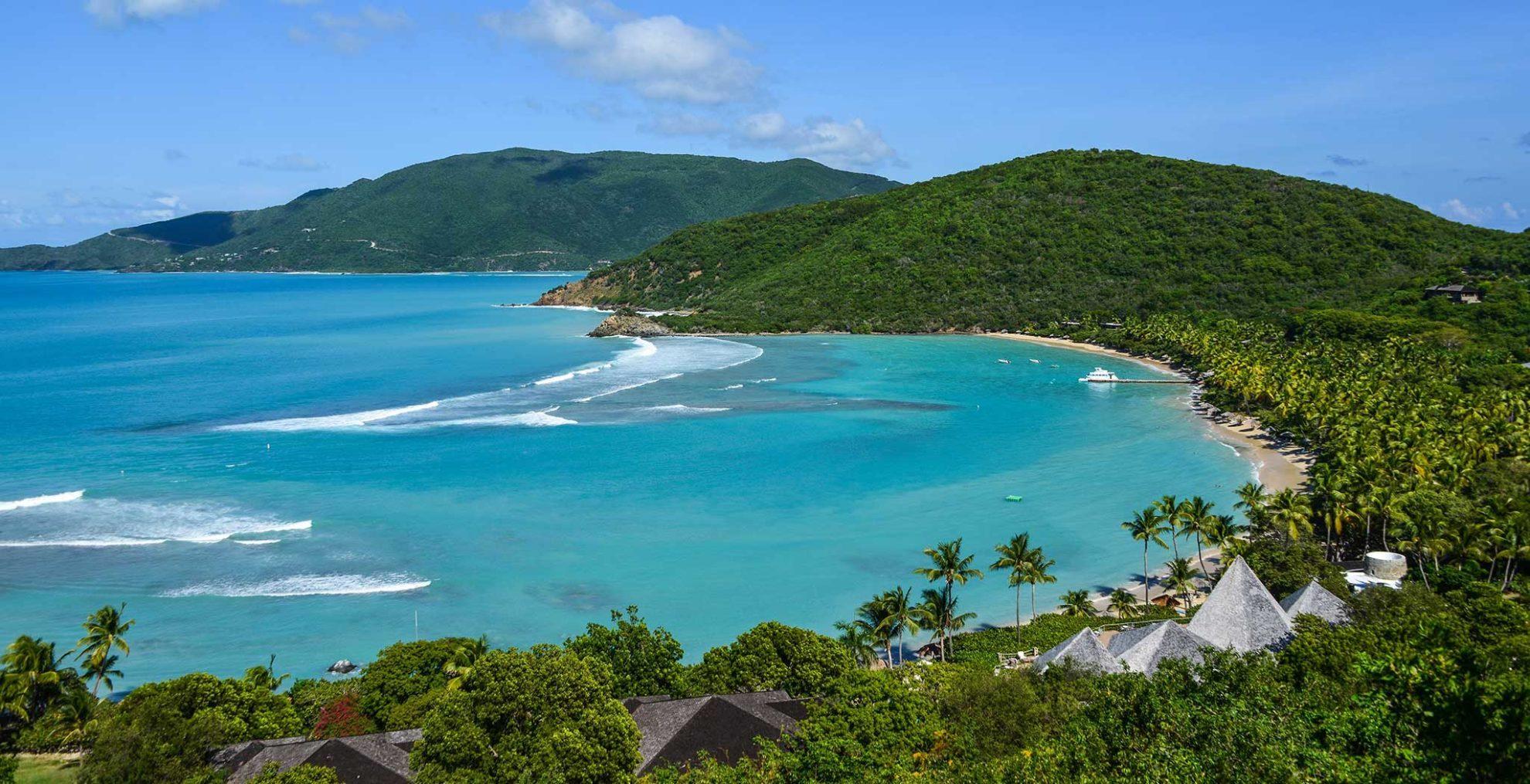 Остров Верджин-Горда. Голубые лагуны прекрасное место для пиратских убежищ