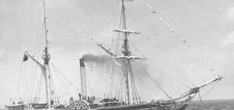 22 апреля 1838 года пароход впервые пересек Атлантический океан без остановок