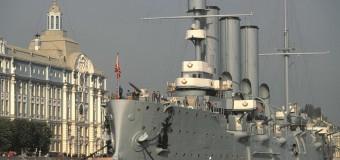 24 мая 1900 в Санкт-Петербурге спущен на воду легендарный крейсер «Аврора»