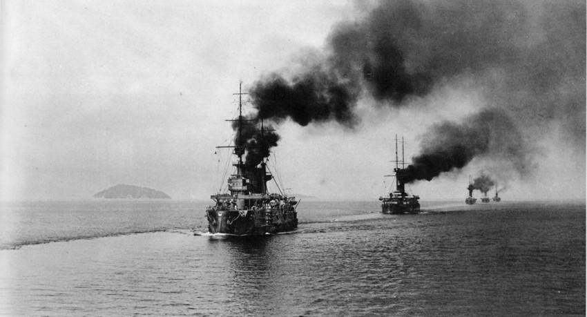 Цусимское сражение в годы русско-японской войны