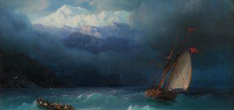 Картины Айвазовского отправляются на выставку в Третьяковскую галерею