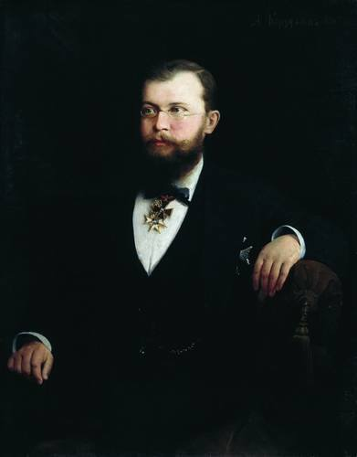 Портрет Александра Михайловича Сибирякова