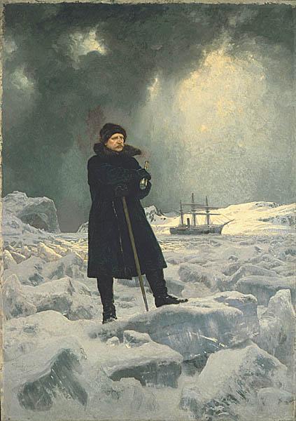 Портрет Норденшельда в экспедиции