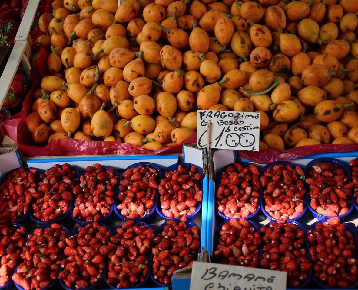 Рыбный рынок Катании. Сицилия.  Фото А . Подколзин