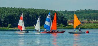 На Михайловском водохранилище прошел «Чемпионат ЦФО по спортивному туризму на парусных дистанциях»
