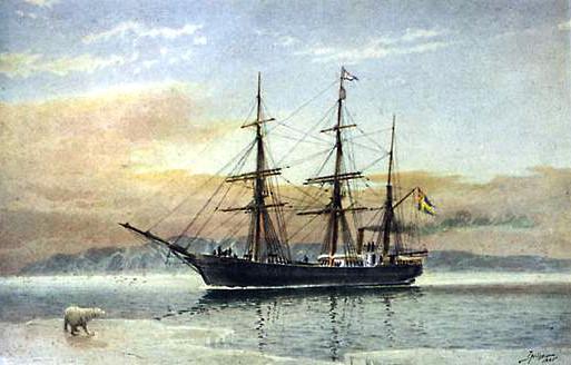 Барг Вега на котором Норденшельд отправился в экспедицию