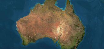 Материк Австралия движется на Север