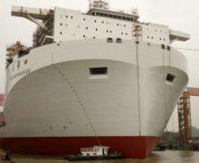 На верфях Китая построено самое большое в мире судно