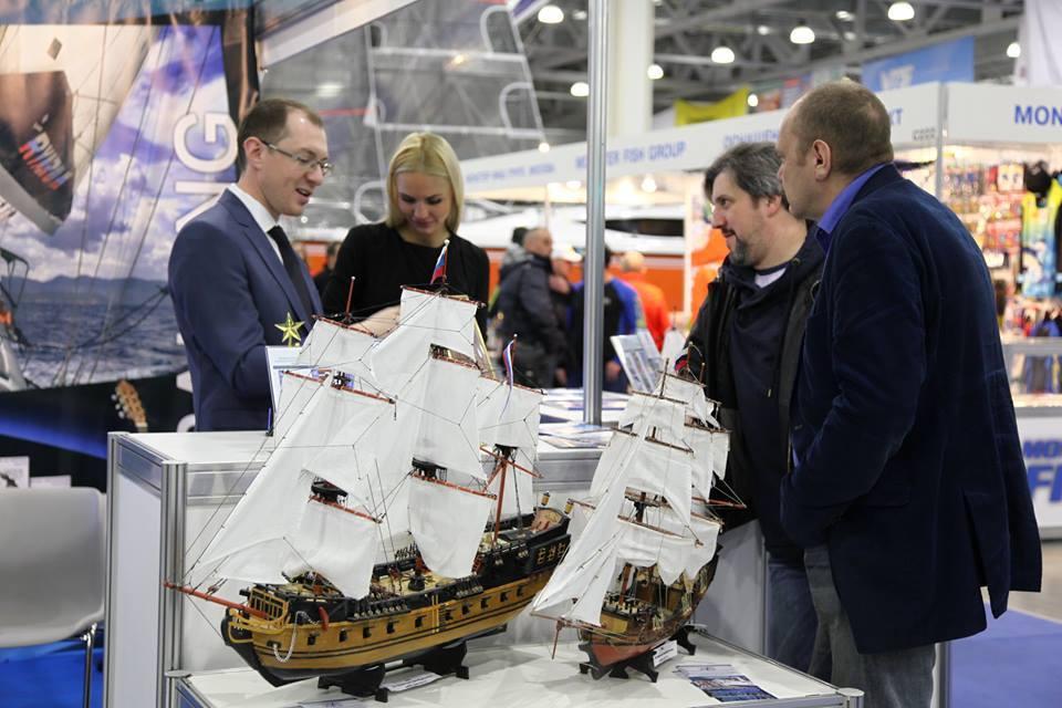 8 марта в Москве стартует Boat Show
