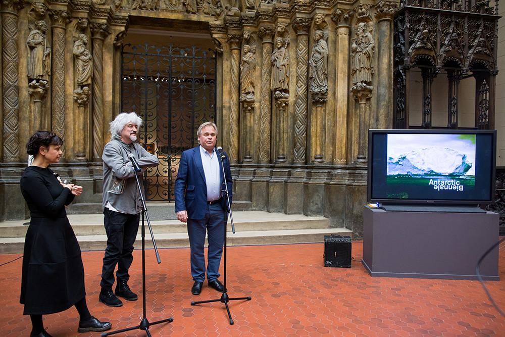 Презентация Antarctic Biennale
