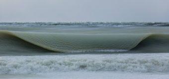 Замороженные волны океана