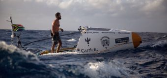 Серфер в одиночку пересек Атлантический океан