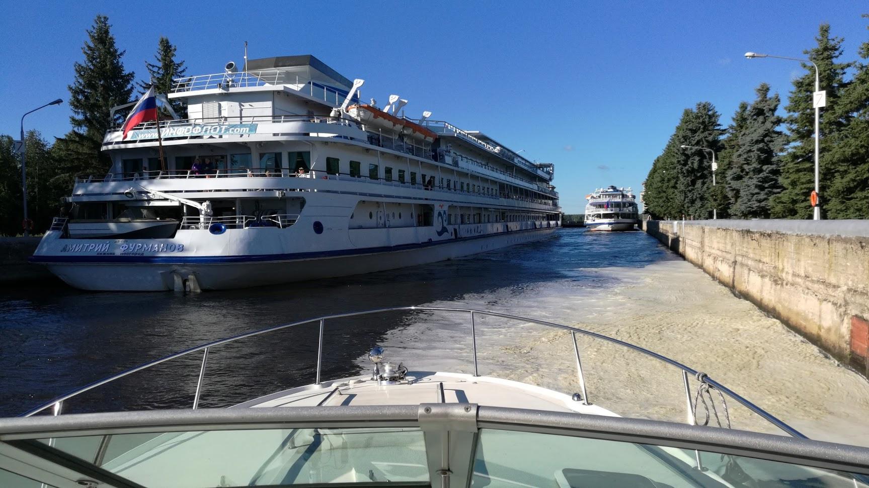 движение маломерного флота по москве реке