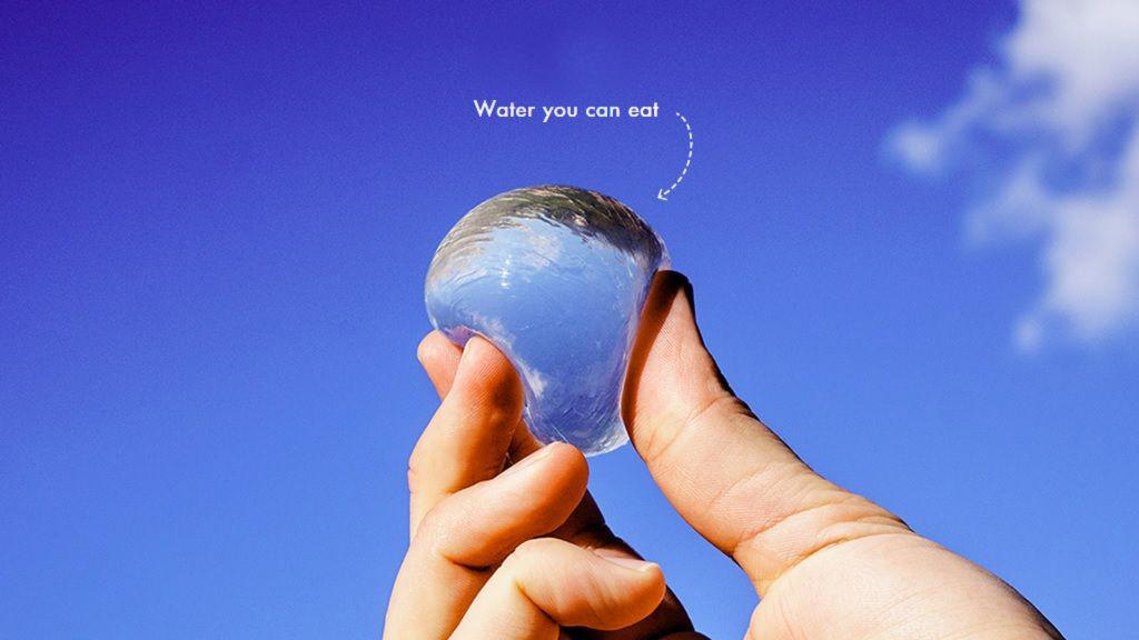 Съедобные пузыри с водой
