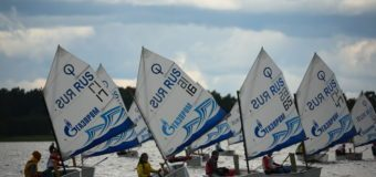 3-й этап серии регат «Оптимисты Северной Столицы. Кубок Газпрома» принес новых лидеров