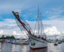 Парусники Яхт-клуба Санкт-Петербурга отправляются на международную регату The Tall Ships Races