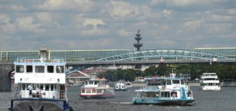 Пьяный моторист  угнал теплоход «Егорий» на Москве-реке