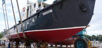 Экспедиционное судно телеканала OCEAN-TV спущено на воду