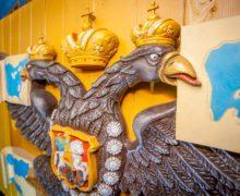 Торжественная установка кормового декора на корабль «Полтава» состоялась 28 октября