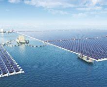 В Хуайани построили самую большую в мире плавучую солнечную электростанцию