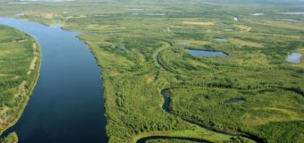 Обмеление реки Лена осложнило судоходство.