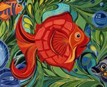 Как живут осьминоги, или Густав Климт под водой