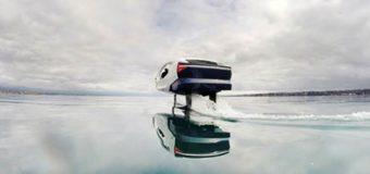 Футуристическое водное такси с консультативной системой ABB