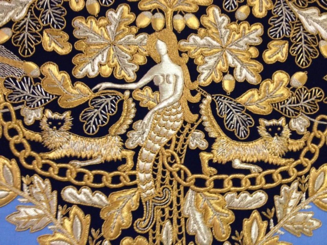 Торжок вышивка золотом обучение 12