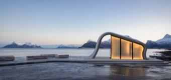 В Норвегии построили самый красивый в мире общественный туалет