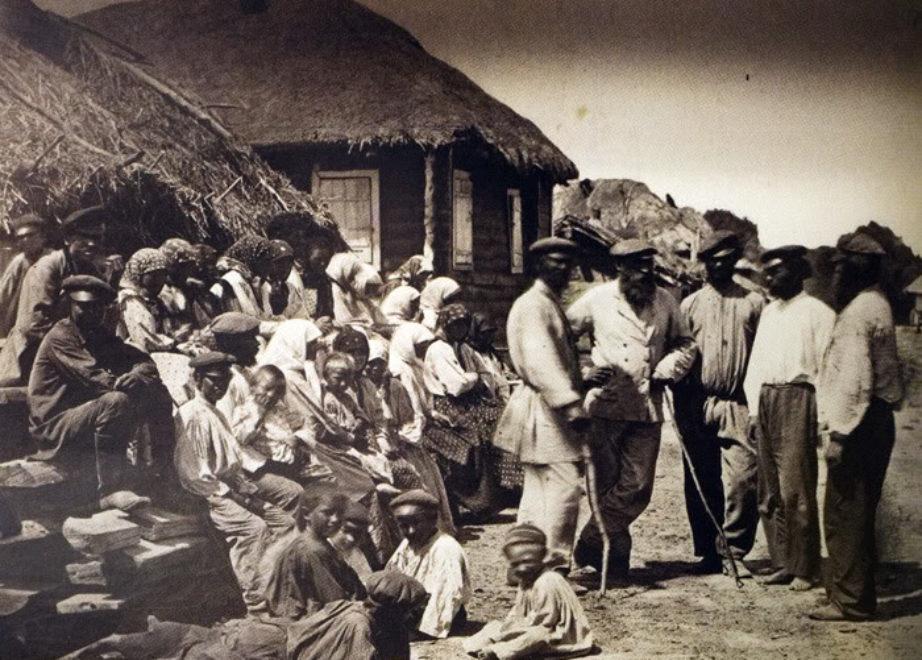 Казачье семейство. Цымлянская станица. 1875-1876 .