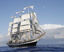 Фрегат «Паллада» примет участие в Дальневосточной регате учебных парусников