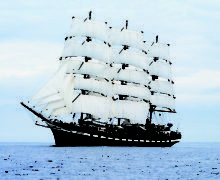 Парусник «Паллада» на четыре дня станет украшением набережной Приморского океанариума
