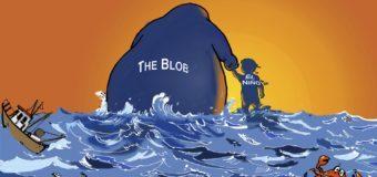Климату планеты угрожает «теплая клякса» (The Blod) в Тихом океане