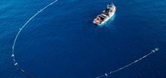Очистка океана от мусора дело не простое