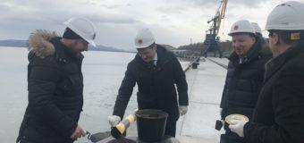 Завершен первый этап строительства рыбного терминала на Камчатке